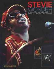 Stevie Wonder:  A Musical Guide to the Classic Albums