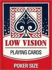 "Low Vision ""New Sight"" Poker Deck Card Game:  A Traveler's Report"