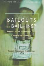 Bailouts or Bail–Ins? – Responding to Financial Crises in Emerging Economies