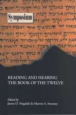 Reading and Hearing the Book of the Twelve