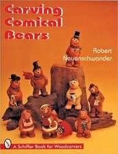 Carving Comical Bears