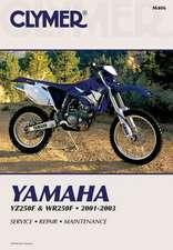 Yamaha Yz/Wr250f 2001-2003
