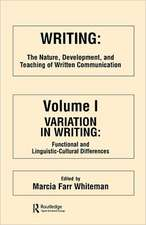 Writing:  The Nature, Development, and Teaching of Written Communication