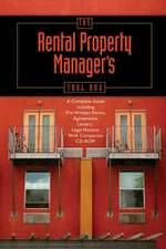 The Rental Property Manager's Toolbox