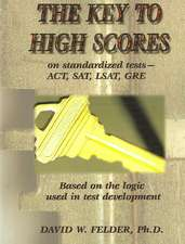 Key to High Scores on Standardized Tests