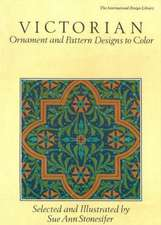 Victorian Ornament and Pattern Designs