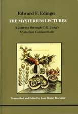 Edinger, E: Mysterium Lectures