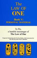 The Law of One:  Personal Material