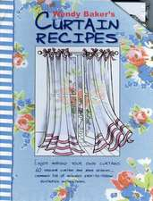 Curtain Recipes Cards