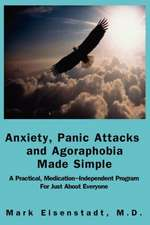 Anxiety, Panic Attacks and Agoraphobia Made Simple