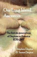 Our Long Island Ancestors