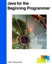 Java for the Beginning Programmer