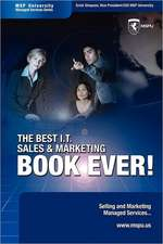 The Best I.T. Sales & Marketing BOOK EVER! - Selling and Marketing Managed Services