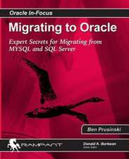 Migrating to Oracle:  Expert Secrets for Migrating from MySQL and SQL Server