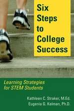 Six Steps to College Success