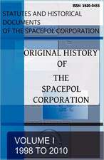 Original History of the Spacepol Corporation