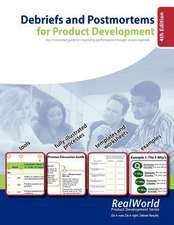 Debriefs and Postmortems for Product Development (4th Edition)