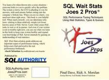 SQL Wait STATS Joes 2 Pros:  Integrating XML, C# and Power Shell