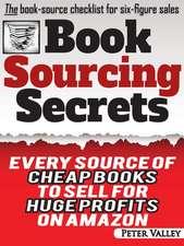 Book Sourcing Secrets
