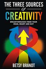 The Three Sources of Creativity