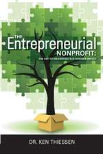 The Entrepreneurial Non-Profit