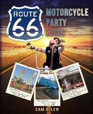 Motorcycle Party Guide to Route 66 (B&w Version)