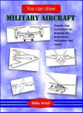 You Can Draw Military Aircraft