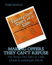 Making Offers They Can't Refuse:  The Twenty-One Sales in a Sale