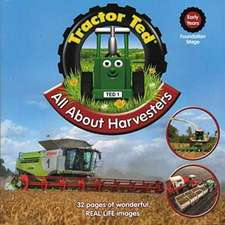 TRACTOR TED ALL ABOUT HARVESTERS BOOK