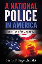 A National Police in America