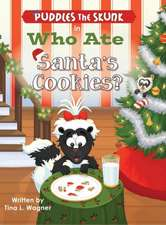 Puddles the Skunk in Who Ate Santa's Cookies?