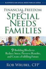 Financial Freedom for Special Needs Families