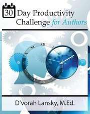 30-Day Productivity Challenge for Authors
