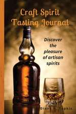 Craft Spirit Tasting Journal