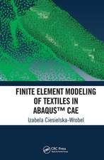 Finite Element Modeling of Textiles in Abaqus (TM) CAE