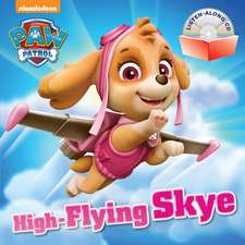 High-Flying Skye [With Audio CD]:  A Big Day for Baseball