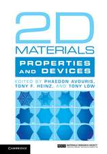 2D Materials: Properties and Devices
