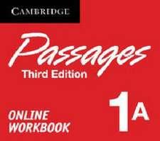 Passages Level 1 Online Workbook A Activation Code Card