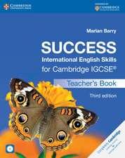 Success International English Skills for Cambridge IGCSE® Teacher's Book with Audio CD