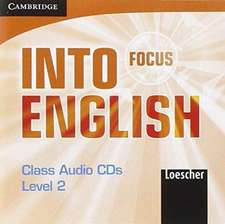 Focus-Into English Level 2 Class Audio CDs (3) Italian Edition