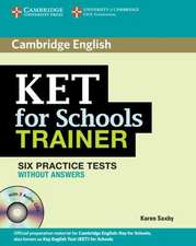 KET for Schools Trainer Elementary Six Practice Tests without Answers with Audio CDs (2)