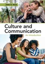 Culture and Communication  : An Introduction