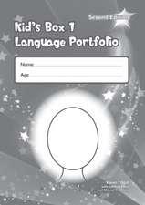 Kid's Box Level 1 Language Portfolio