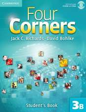 Four Corners Level 3 Student's Book B with Self-study CD-ROM and Online Workbook B Pack