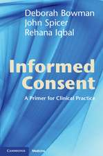 Informed Consent: A Primer for Clinical Practice