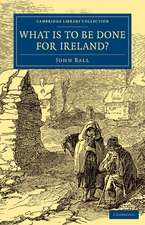 What Is to be Done for Ireland?