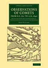 Observations of Comets from BC 611 to AD 1640: Extracted from the Chinese Annals, Translated with Introductory Remarks