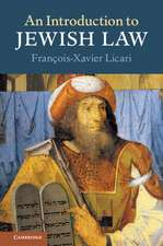 An Introduction to Jewish Law