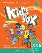 Kid's Box Updated L3 and L4 Pupil's Book Turkey Special Edition: For the Revised Cambridge English: Young Learners (YLE)