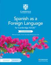 Cambridge IGCSE™ Spanish as a Foreign Language Coursebook with Audio CD and Cambridge Elevate Enhanced Edition (2 Years)